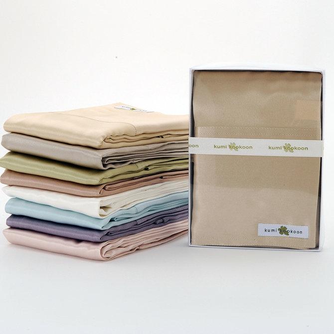 Kumikookoon Essential Elements Pillow Case Std/Q Smoke - 20x32
