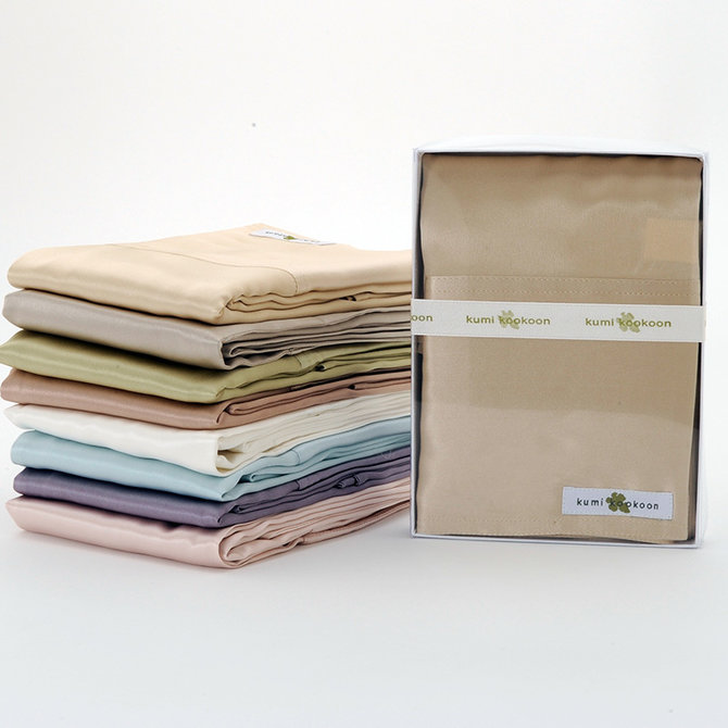 Kumikookoon Essential Elements Pillow Case Std/Q  Praline 20x32