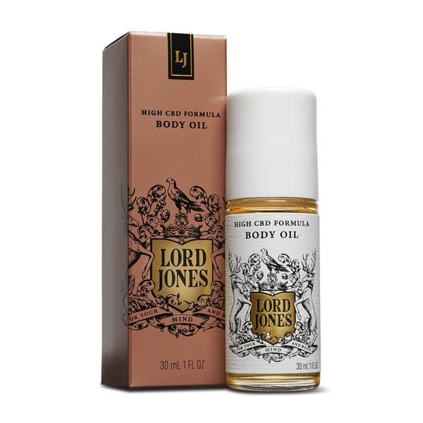 Lord Jones LJ CBD Body Oil
