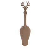 Sabre Tart Slicer - Deer - Caramel