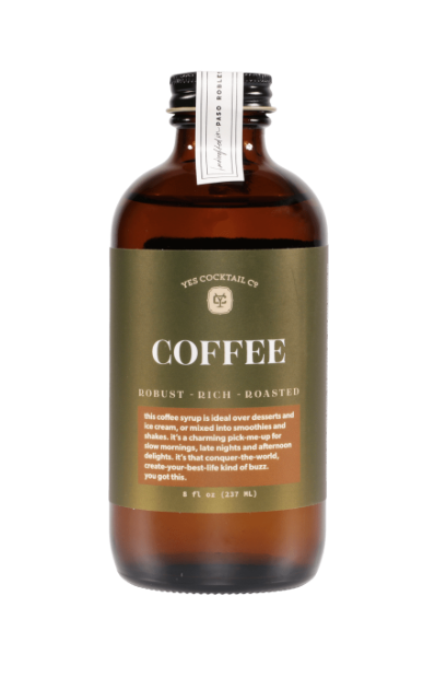 Yes Cocktails Cold Brew Coffee Syrup