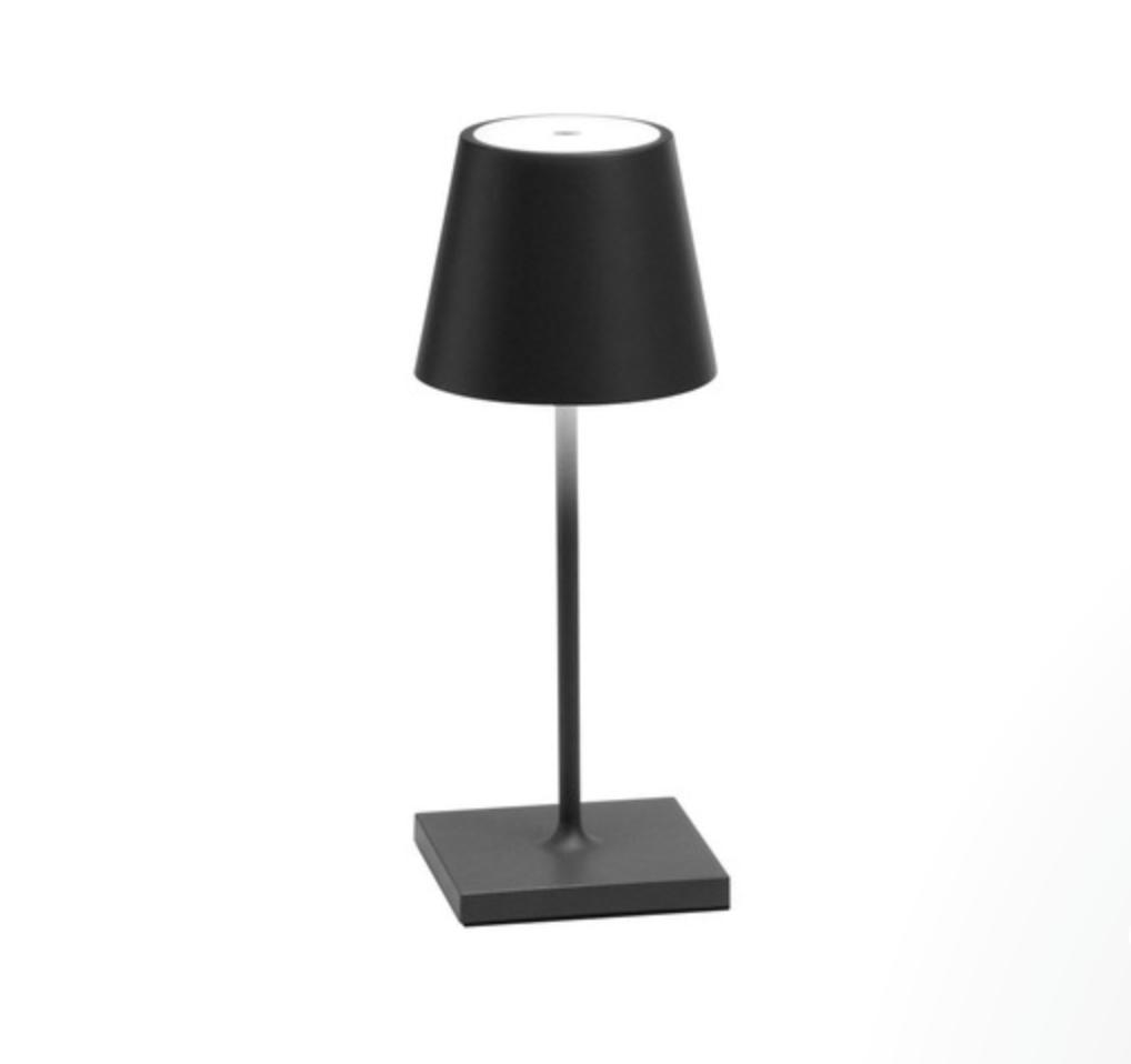 Poldina PODINA MINI TABLE LAMP DARK GREY