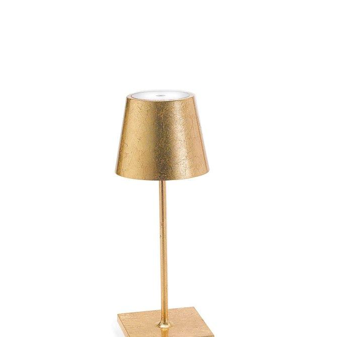 Poldina POLDINA PRO MINI GOLD LEAF TABLE LAMP