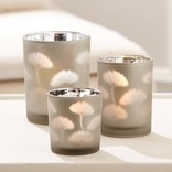 Two's Company Gingko Glass Votives Small