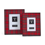 Two's Company Plaiditude Large Photo Frames
