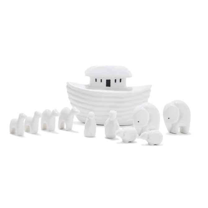 Two's Company 11 Pc Miniature Noah's Ark Set