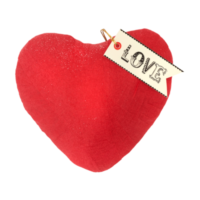Tops Malibu Love Red Heart-Shape Surprise Ball
