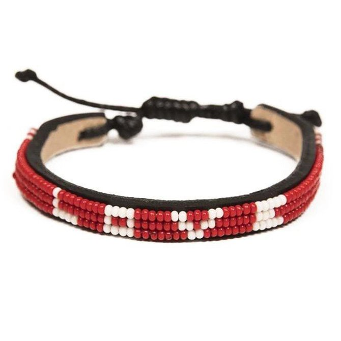 Love Project Skinny LOVE Bracelet - Red: Regular