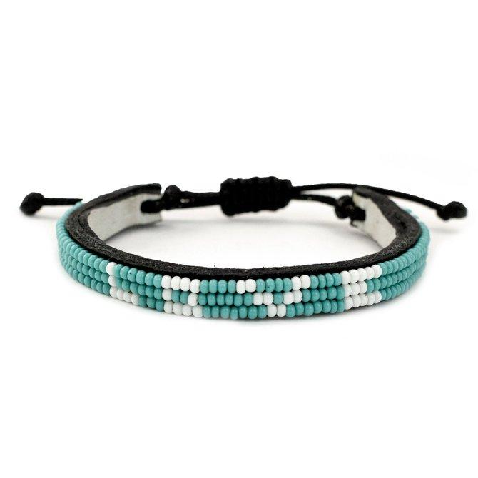 Love Project Skinny LOVE Bracelet - Turquoise: Regular