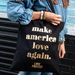 Love Project Make America Love Again Tote - Black