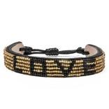 Love Project LOVE Bracelet - Gold/Black