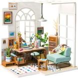 Hands Craft Soho Time DIY Miniature Dollhouse Kit