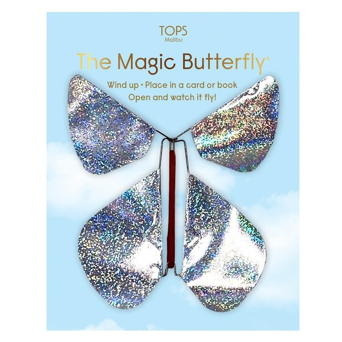 Tops Malibu Holographic Magic Flying Butterfly