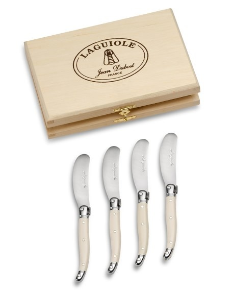 Laguiole Cheese Knives Ivory