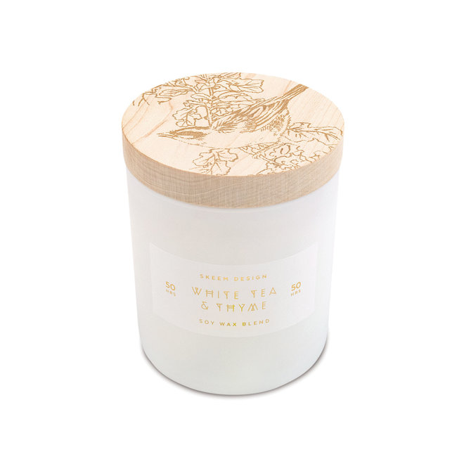 Skeem Design White Tea and Thyme Candle