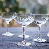 The Vintage List Lens Champagne Saucers