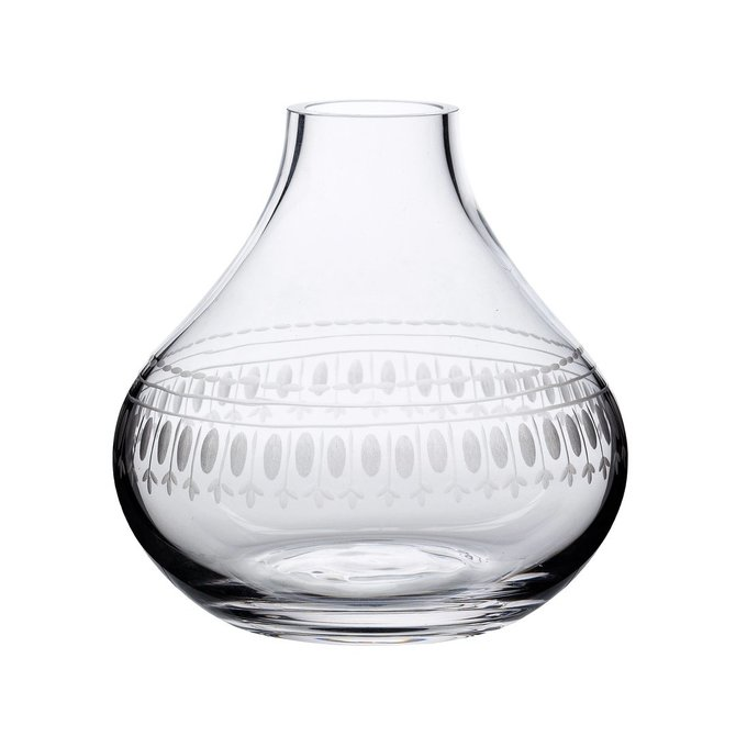 The Vintage List Vase with Oval Design