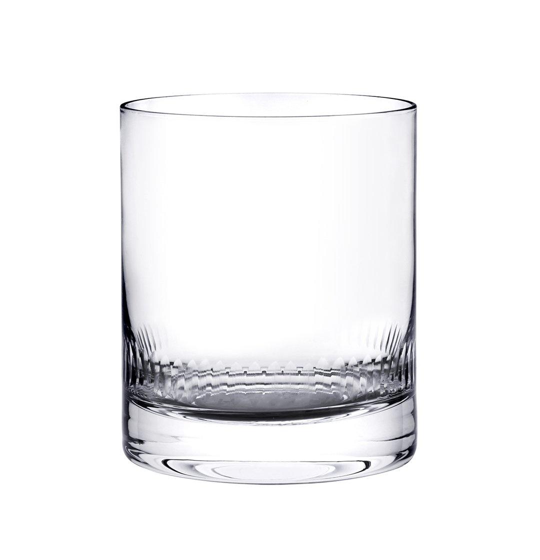 The Vintage List Whiskey Glass w/ Spear Design