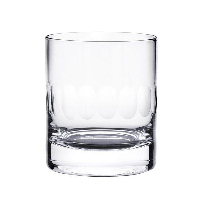 The Vintage List Whiskey Glass Lens Design