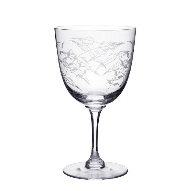 The Vintage List Fern Wine Glasses