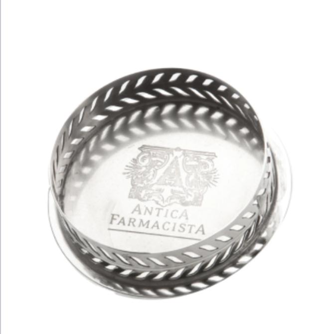 Antica Farmacista 250 mL Decorative Diffuser Tray Silver Finish
