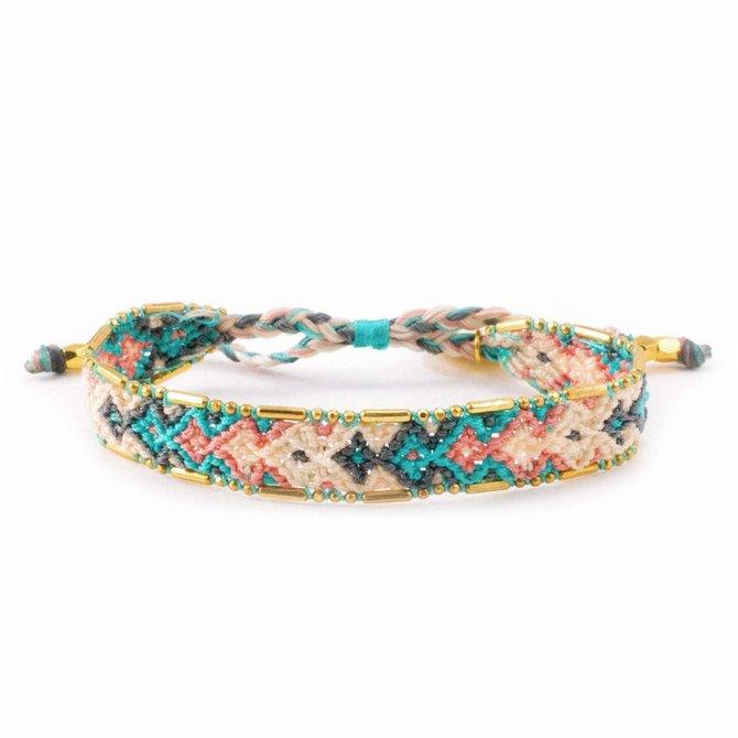 Love Project Bali Friendship Bracelet - Desert Quartz