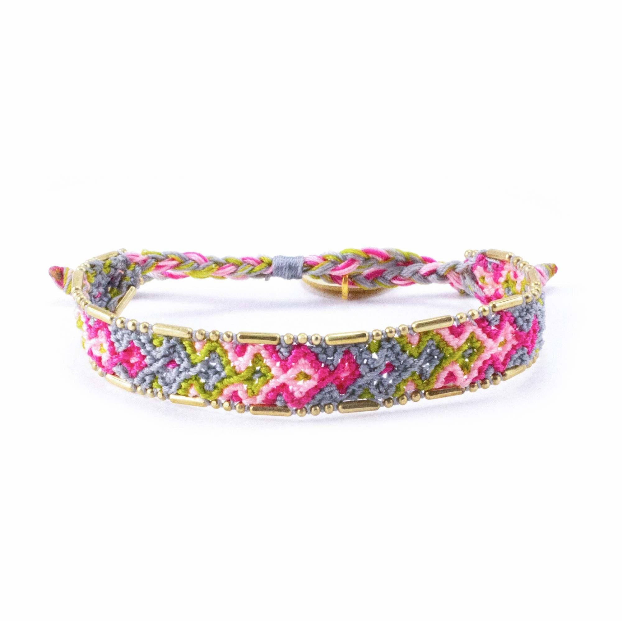 Love Project Bali Friendship Bracelet -  Bloom Garden