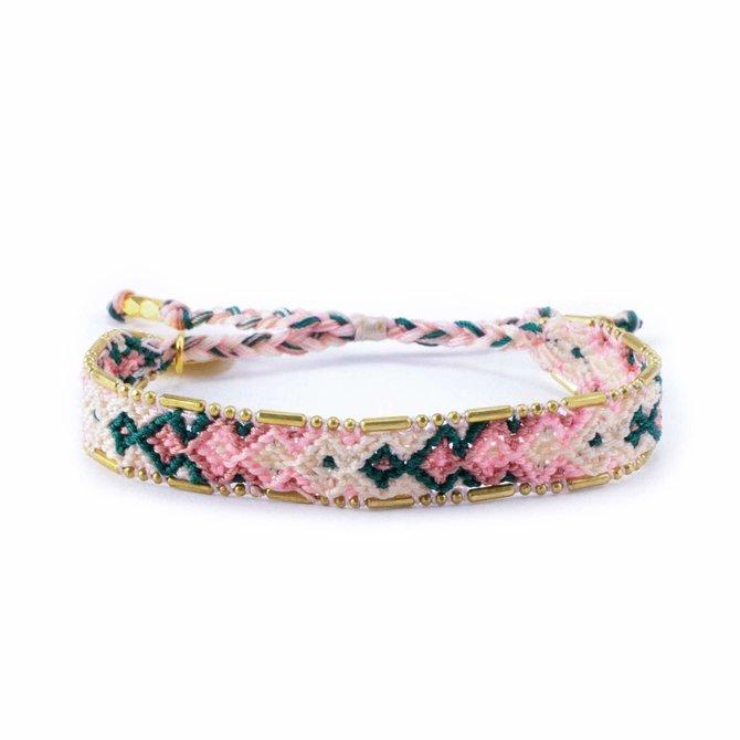 Love Project Bali Friendship Bracelet - Desert Opal