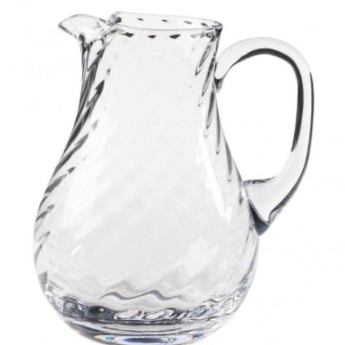 Casafina Living Pitcher 54 0z Ottica clear - glass