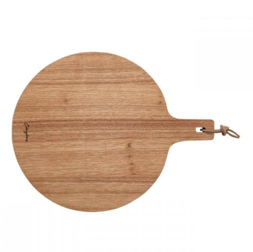 Casafina Living Round Cutting Board - Oakwood