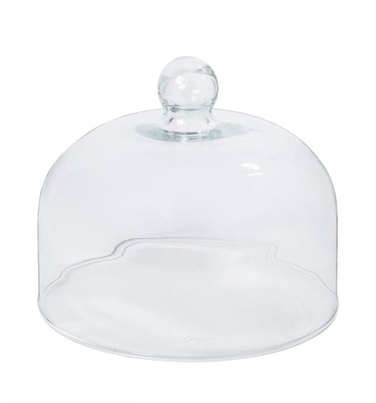 "Casafina Living Glass Dome 10.75"""
