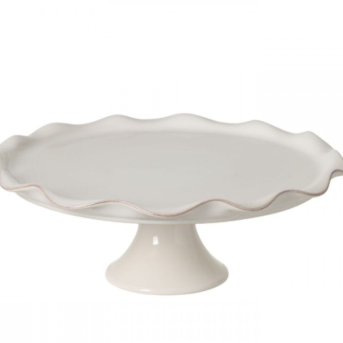 """Casafina Living Footed Plate 14"""" Cook  & Host Grey"""