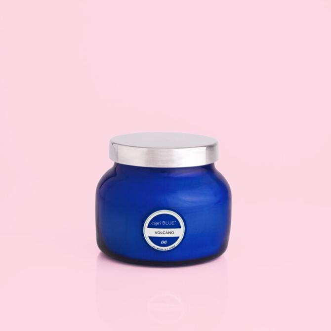 Capri Blue 8 OZ BLUE PETITE JAR, VOLCANO