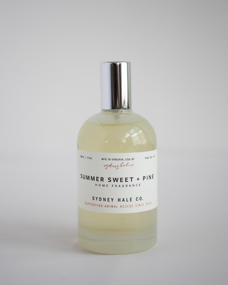 Sydney Hale Co Summer Sweet + Pine Room Spray