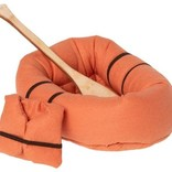 Maileg Rubber Boat Mouse - dusty yellow