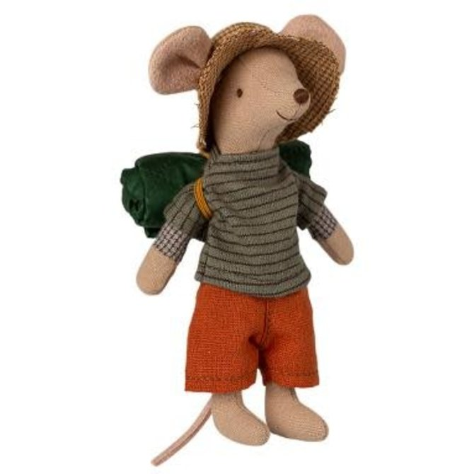 Maileg Hiker Mouse Big Brother
