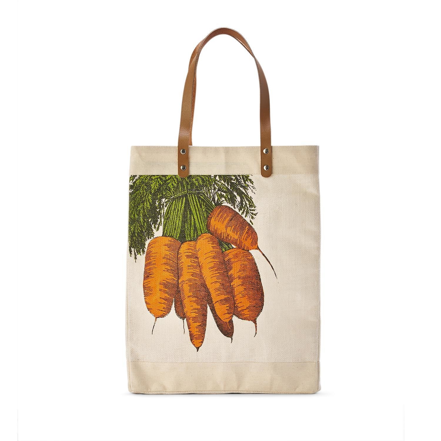 Two's Company Market Tote Bag - Carrots