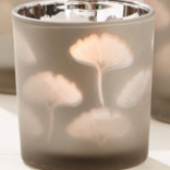 Two's Company Gingko Glass Votives Medium