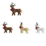 Melange Reindeer Brooch