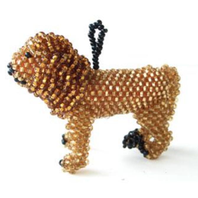Melange Lion Ornament