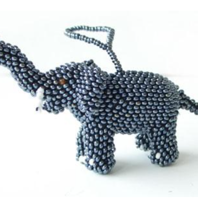 Melange Elephant Ornament