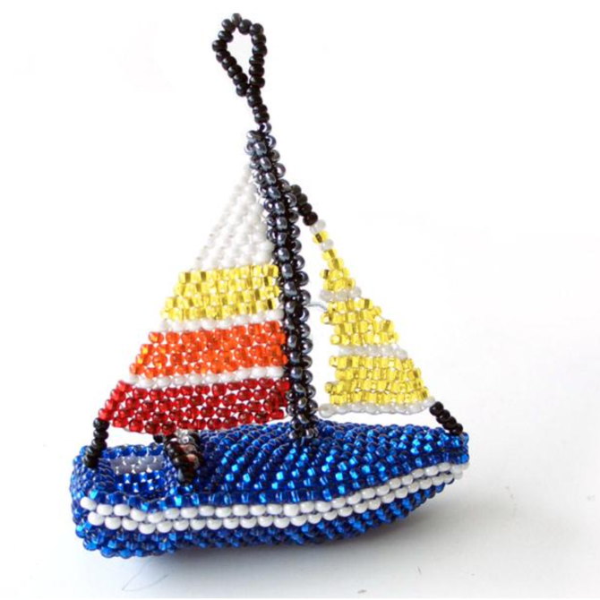 Melange Sailboat Ornament