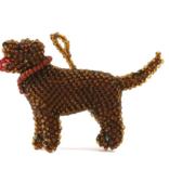 Melange Chocolate Labrador Ornament