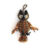 Melange Owl Ornament