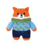 Melange Crochet Fox Ornament