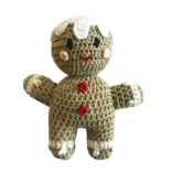 Melange Crochet Gingerbread Toy