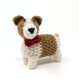 Melange Crochet Terrier Ornament