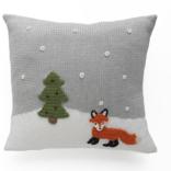 """Melange 10"""" Fox Pillow"""