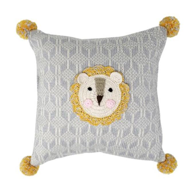 Melange Lion Pillow