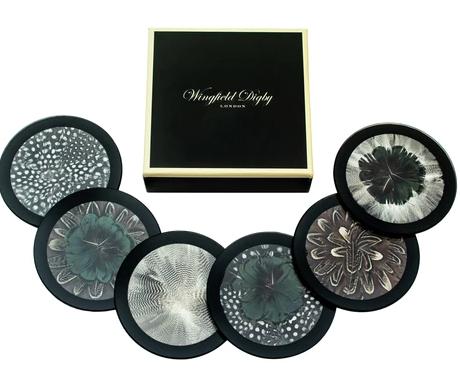 Wingfield Digby Mixed Wingfield Coasters - set of 6